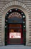 卡地亚商店窗口2 免版税图库摄影