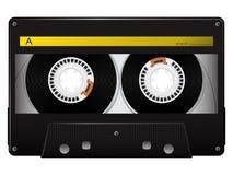 卡型盒式录音机向量 库存图片