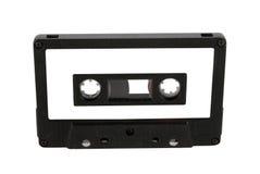 卡型盒式录音机查出的标签 图库摄影