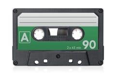 卡型盒式录音机磁带 免版税图库摄影