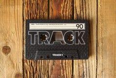 卡型盒式录音机磁带 免版税库存图片
