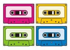 卡型盒式录音机 免版税库存图片