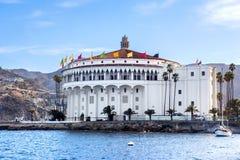 卡塔利娜海岛的赌博娱乐场 图库摄影