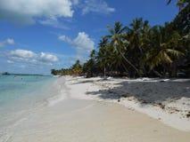 卡塔利娜海岛,多米尼克共和国 库存图片