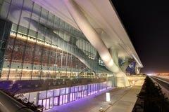 卡塔尔国民公会中心 库存照片