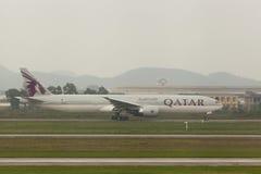 卡塔尔航空 库存照片