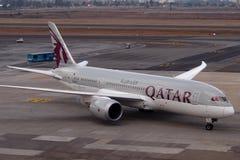 卡塔尔航空 免版税库存图片