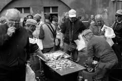 卡塔尼亚鱼市 免版税库存图片