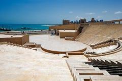 卡塔拉圆形剧场,多哈,卡塔尔 库存照片