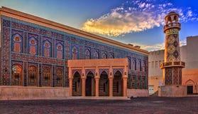 卡塔拉清真寺,多哈,卡塔尔 库存照片