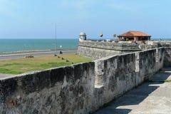 卡塔赫钠。哥伦比亚 免版税库存照片