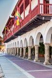 卡塔赫钠哥伦比亚一个典型的看法  免版税库存照片