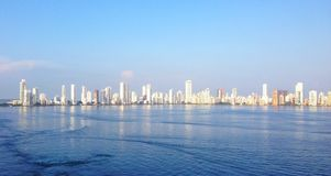 卡塔赫钠哥伦比亚 免版税库存图片