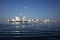 卡塔赫钠地平线 免版税库存图片