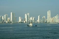 卡塔赫钠城市地平线  库存图片