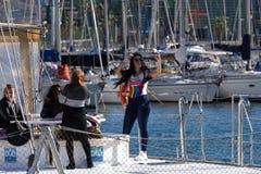 卡塔赫钠港口 库存图片