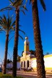 卡塔赫钠穆尔西亚XVIII世纪西班牙武库  免版税库存照片