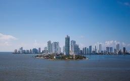 卡塔赫钠,哥伦比亚 库存照片
