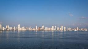 卡塔赫钠,哥伦比亚 库存图片