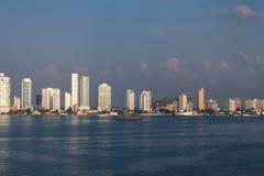 卡塔赫钠,哥伦比亚 免版税库存照片