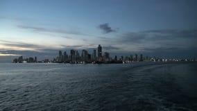 卡塔赫钠-哥伦比亚Skyscapers 股票录像