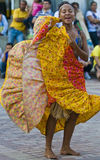 卡塔赫钠celebration de indias 库存照片