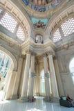 卡塔龙尼亚的内部国家美术馆 免版税库存照片