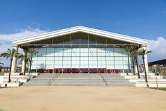 卡塔龙尼亚的国家戏院在巴塞罗那 免版税库存照片