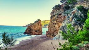 卡塔龙尼亚的风景 免版税库存图片