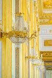 卡塞尔塔宫殿,有位于卡塞尔塔的一个巨大公园的一王宫 库存照片