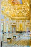 卡塞尔塔宫殿,有位于卡塞尔塔的一个巨大公园的一王宫 免版税图库摄影