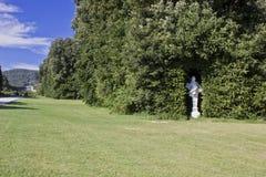 卡塞尔塔庭院,雕象细节 库存照片