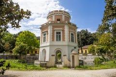 卡塞尔塔王宫庭院 库存图片