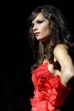 卡塞尔塔,意大利- Antea时装表演 库存照片