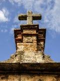 卡塞里斯`老镇细节  库存图片