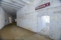 卡夫拉,科多巴,西班牙, 9月省斗牛场内部  免版税库存图片