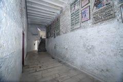 卡夫拉,科多巴,西班牙, 9月省斗牛场内部  库存照片