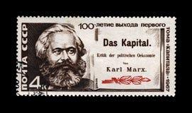 卡尔・马克思,著名政客领导,资本书作者,大约1967年, 免版税库存图片