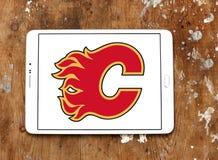 卡尔加里发火焰冰球队商标 免版税库存照片
