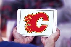 卡尔加里发火焰冰球队商标 免版税图库摄影