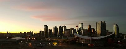 卡尔加里,亚伯大,加拿大 免版税库存图片