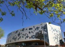 卡尔加里,阿尔伯塔,加拿大,新的中央图书馆 免版税库存图片