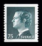 卡尔十六世・古斯塔夫, serie国王,大约1974年 库存例证