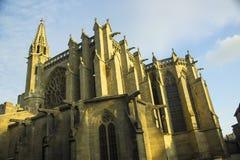 卡尔卡松中世纪城堡 库存图片