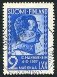 卡尔古斯塔夫埃米尔Mannerheim总统 免版税库存照片