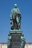 卡尔弗里德里克冯Baden的纪念碑在卡尔斯鲁厄 免版税图库摄影