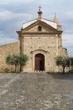 卡尔恰诺主教堂 库存照片