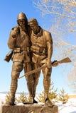 1919卡尔斯和纪念碑雕塑传奇  库存图片