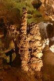 卡尔斯巴德洞穴形成岩石 免版税库存图片