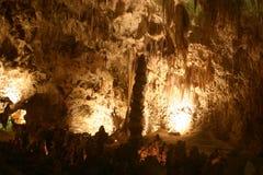 卡尔斯巴德洞穴形成岩石 免版税库存照片